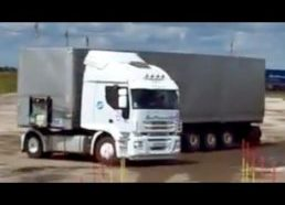 Masters, experienced or just lucky truck drivers