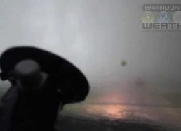 Tornado Intercept Vehicle Is Hit Tornado in Kansas