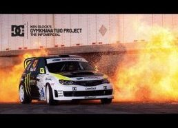 Ekstremaliai profesionalus rally mašinos vairavimas