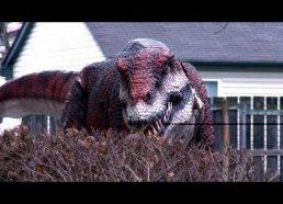 Pokštas su Dinozauru