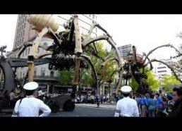 Gigantiškas Voras Robotas, Jokohama
