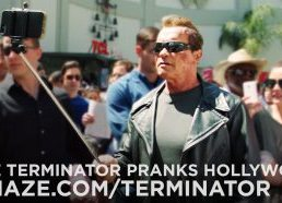 Arnold Pranks Fans as the Terminator...for Charity